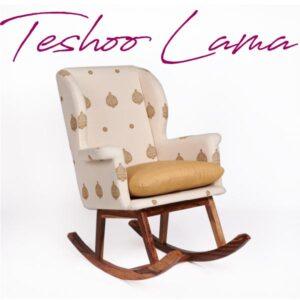 Assam Eri Silk-Cotton Rocking Chair