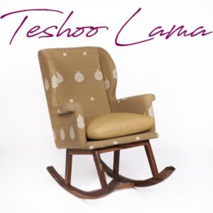 Assam Muga Silk-Cotton Rocking Chair