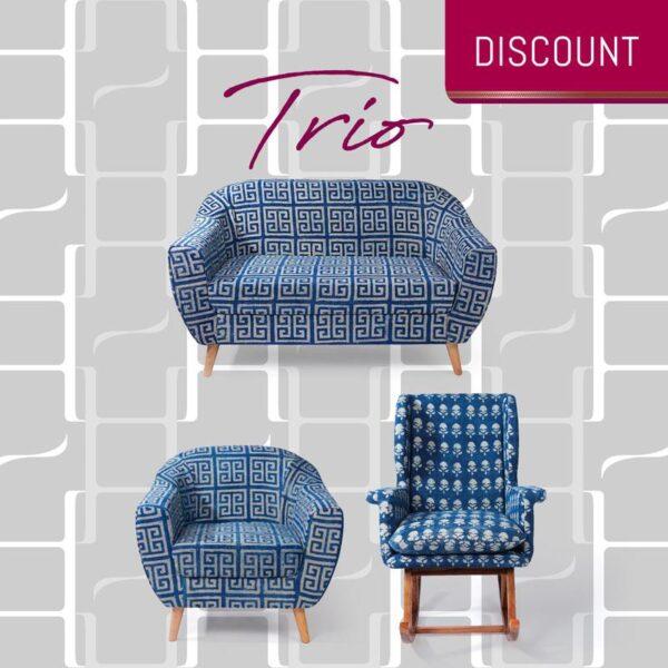 Dhurrie Trio 1
