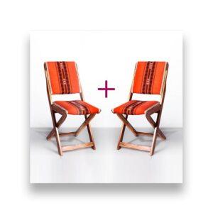 Naga Shawl Folding Chair