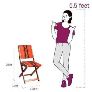 Naga Shawl Folding Chair single-6