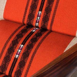 Naga Shawl Lounge Chair with Detachable Surface and Knob-c