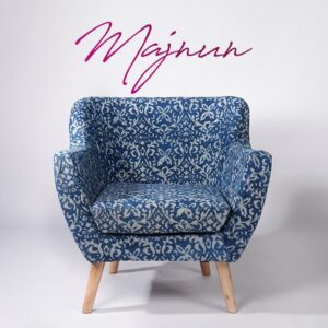 Ornate Patterned Dhurrie Armchair