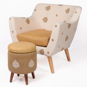 Silk-Cotton Armchair-1