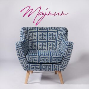 maze-patterned-dhurrie-armchair