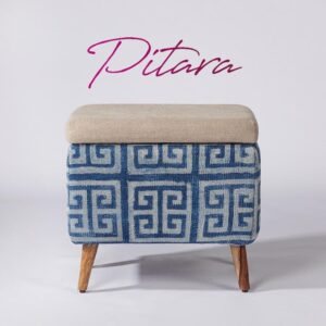 maze-patterned-rectangular-storage-ottoman