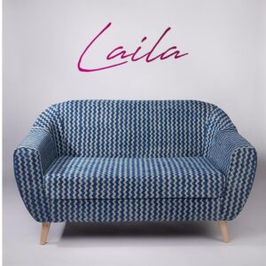 zigzag-patterned-dhurrie-2-seater-loveseat