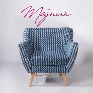 zigzag-patterned-dhurrie-armchair