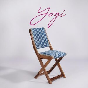 zigzag-patterned-dhurrie-folding-chair